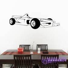 F1 Car Sticker Vehicle Decal Classic Cars Posters Vinyl Wall Decals Home Decoration Decor Mural Luxury Racing Car Sticker Wall Stickers Aliexpress