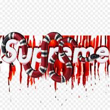 supreme gucci snake logo loix