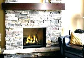 faux stacked stone fireplace styleid co