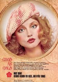 retro pastel eye makeup look