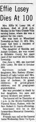 Effie Graham Losey - Newspapers.com