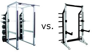 half rack vs full power rack vs squat rack