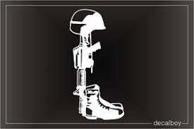 Fallen Soldier Decals Stickers Decalboy