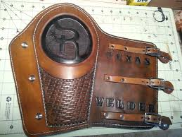 welders arm pad leather projects