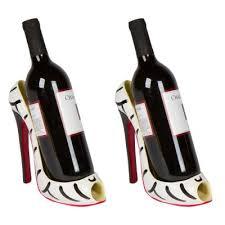 high heel single wine bottle