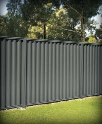 corrugated metal fence cost support for