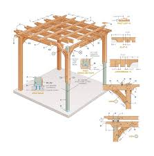 How To Build Your Own Pergola Garden Building Blogs Lawsons