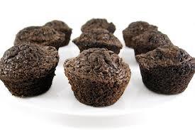 skinny dark chocolate brownie bites