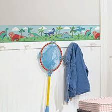 Roommates Dinosaur Parade Peel And Stick Wallpaper Border Removable Kids Room Decor Amazon Com