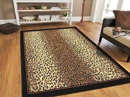 large 8x11 cheetah rug animal print