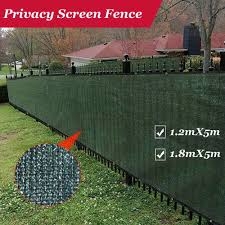 Fence Privacy Screen Outdoor Backyard Fencing Windscreen Shade Cover Mesh Fabric Privacy Barrier Balcony Privacy Shield Green Fencing Trellis Gates Aliexpress