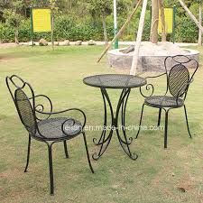 china garden metal table and chair ll