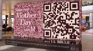 spencer creates blooming qr code