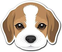 Amazon Com Beagle Customi Dog Breed Decal Sticker For Car Truck Macbook Laptop Air Pro Vinyl Computers Accessories