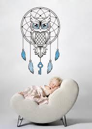 Owl Decal Owl Wall Decal Monogram Owl Decals Owl Diy Etsy