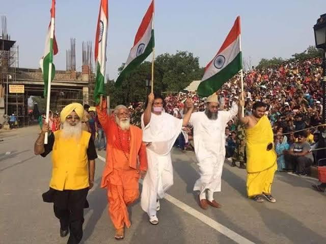 "Image result for hindu muslim sikh"""