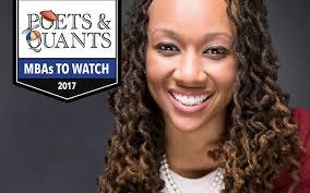 Poets&Quants | 2017 MBAs To Watch: Tiffany Smith, Northwestern (Kellogg)