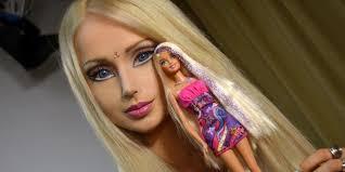 human barbie looks like without makeup