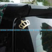 Buy Fan Child Car Stickers Brushed Gold Crown Stickers Car Stickers Mini Stickers Affixed Phone Stickers Laptop Stickers In Cheap Price On Alibaba Com