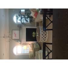 moroccan trellis drum coffee table