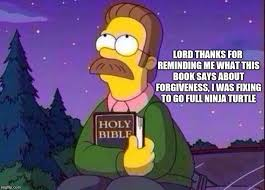 Ned Flanders and Bible Memes - Imgflip