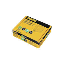 Dewalt 2 Inch X 9 Gauge Galvanized Barbed Paper Tape Fencing Staples 960 Per Box The Home Depot Canada