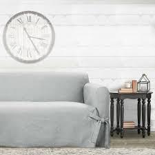 farmhouse basketweave sofa slipcover
