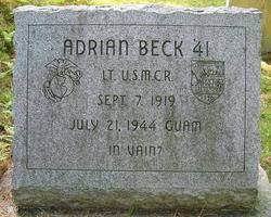 Lieut Adrian Beck (1919-1944) - Find A Grave Memorial