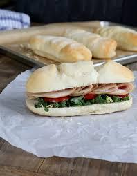 subway style gluten free sandwich rolls