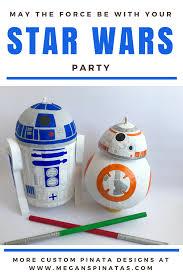 Star Wars Pinata Bb8 Star Wars Party Supplies Star Wars