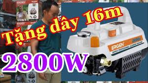 Máy rửa xe Ergen EN-6728 motor từ, lõi đồng 100% Hàng mới,công suất khủng -  YouTube
