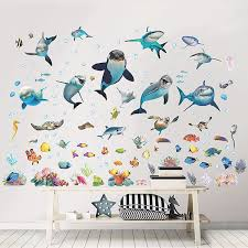 Wt45453 Sea Adventure Wall Stickers By Walltastic