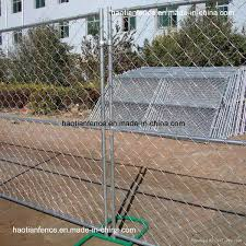 China Portable Chain Link Fence Panels China Temporary Fence Portable Chain Link Fence