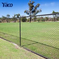 4ft 5ft 6ft Height Canada Standard Black Coated Chain Link Fencing Residential Security Fence Per Meter Price Buy 8ft Galvanized Iron Wire Black Vinyl Chain Link Fence Backyard Metal Fence Privacy