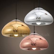 glass pendant light with glass shade