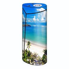 Skin Decal For Smok Priv V8 60w Vape Tropical Paradise Palm Trees Itsaskin Com