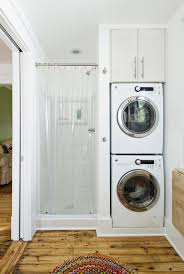 bathroom designs with laundry space