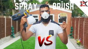 How To Paint Fence Panels Spray Vs Brush Wagner Universal W570 Flexio Sprayer Review Youtube