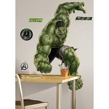 Roommates Avengers Hulk Peel Stick Giant Wall Decal Walmart Com Walmart Com