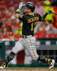 Corey Dickerson of the Pittsburgh Pirates hits his second home run ...