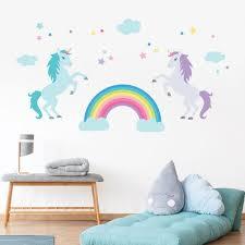 Unicorn Wall Decal Unicorn Wall Stickers Unicorn Stickers For Wall