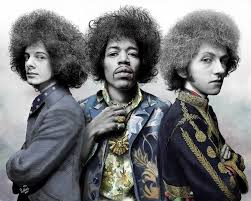 Jimi Hendrix Experience Caricature – Paul King Artwerks