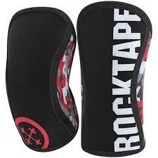 rocktape knee sleeves ins red