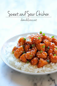 baked sweet and sour en
