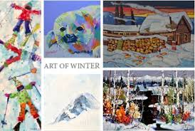 Art of Winter at Adele Campbell Fine Art Gallery - Art-BC