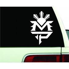 Manny Pacquiao Logo Pac Man Boxing Vinyl Decal Sticker Emblem Jdm Car Mymonkeysticker Com