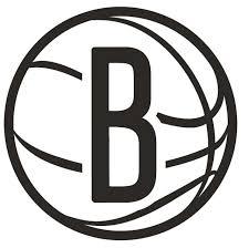 Brooklyn Nets Logo Die Cut Vinyl Graphic Decal Sticker Nba Basketball