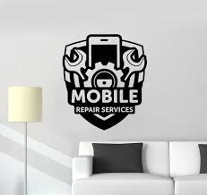 Cell Phone Tablet Laptop Repair Business Vinyl Decal Sticker Window Lettering Business Industrial Business Signs Alberdi Com Mx