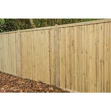 Forest Garden Pressure Treated Acoustic Fence Panel 6x6ft Multi Packs Wickes Co Uk