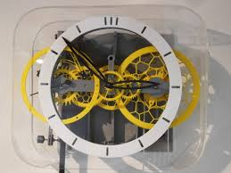 the 3d printed pendulum clock from
